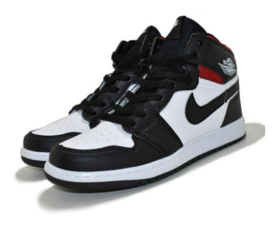 Tênis Bota Cano Alto Air Jordan 1 Chicago Retro High Oferta