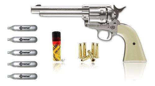 Imagen 1 de 5 de Pistola Colt Peacemaker 4.5mm 350bbs 5co2 Full Metal Xtreme
