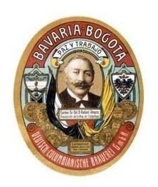 Bavaria Cerveza - Rafael Reyes Reimpresión Etiqueta Antigua