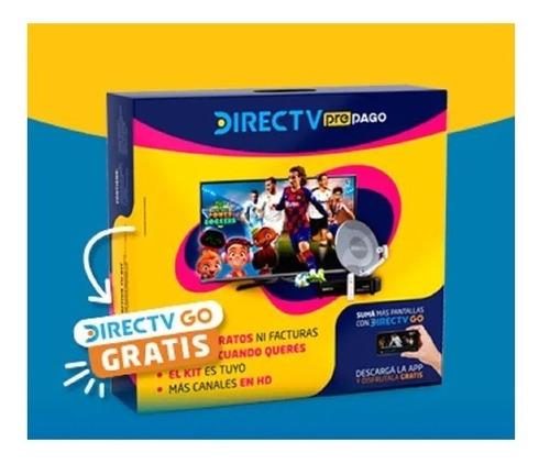 Imagen 1 de 1 de Kit Prepago Antena Directv 46 Cm