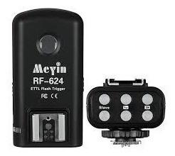 Radio Flash Meyin Rf624 Wireless E Ttl Para Nikon