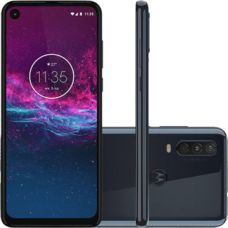 Smartphone Motorola One Action 128gb - Azul Denim