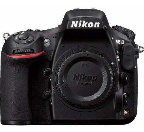 Câmera Profissional Nikon Dslr D810 Apenas O Corpo