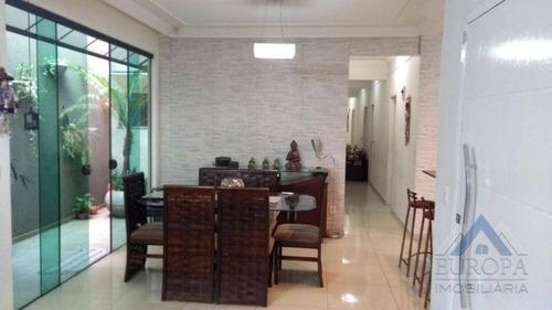 Casa Com 3 Dormitórios À Venda, 140 M² Por R$ 420.000,00 - Jardim Morumbi - Londrina/pr - Ca0497