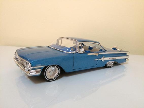 Chevrolet Impala 1960 Escala 1/24 Carros De Colección