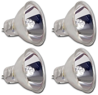 Pack 4 Lámparas Dicroicas 15 V - 150 W. Tecshow En Cuotas