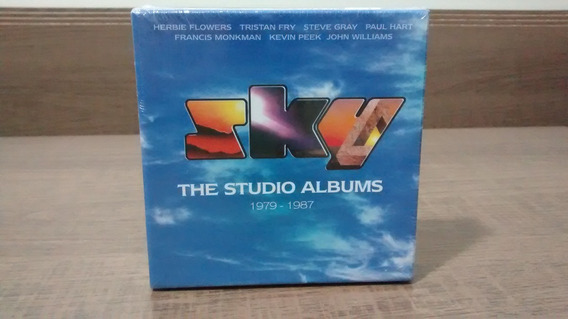 Sky Box Set The Studio Albums 1979-1987 - 8 Discos Prog Rock