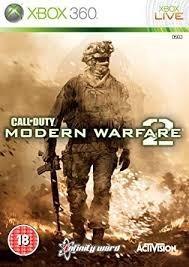 Call Of Duty, Modern Warfare 2 - Xbox 360 - Mídia Física