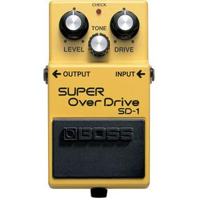 Sd-1: Pedal De Efeito Overdrive Para Guitarra Sd1 - Boss