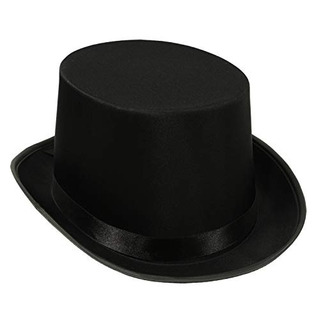 Beistle Satin Sleek Top Hat | Negro | (1 Unidad)