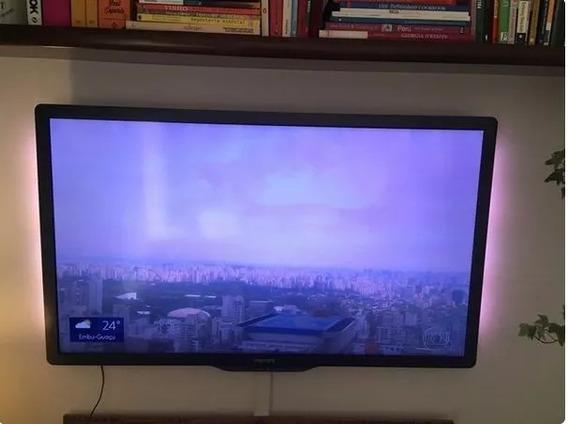 Tv 46 Polegadas Com Led Philips Ambilight