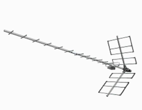 3 Antena Externa Digital Yagi Prohd-1118 - Proeletronic
