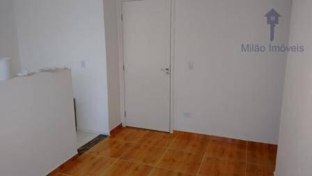 Apartamento 2 Dormitórios À Venda, 47m², Condomínio Parque Sicília, Pq. Campolim Em Sorocaba/sp - Ap1088