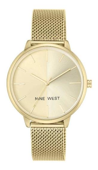 Reloj Nine West Para Mujer Modelo: Nw1980chgb Envio Gratis