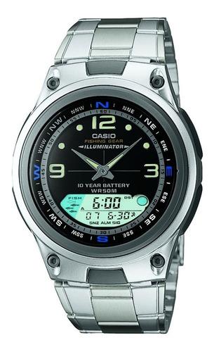 Relógio Casio Masculino Aw-82d-1av Pescaria