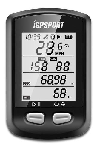 Imagem 1 de 9 de Gps Igpsport Igs10s Bluetooth Strava Bike Ant+ Nf+ Garantia