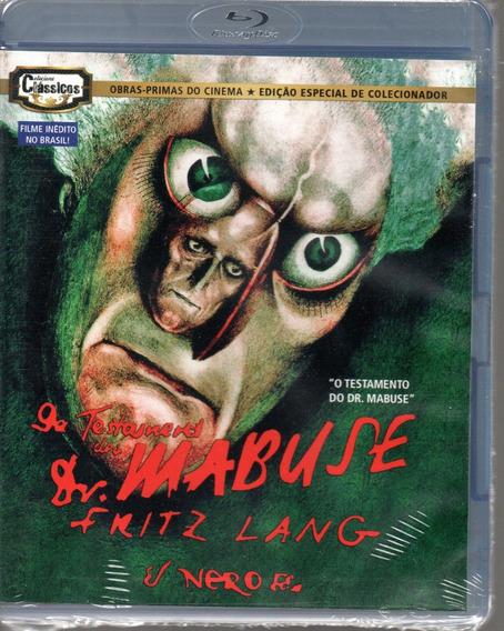 Blu-ray O Testamento Do Dr Mabuse - Opc - Bonellihq M20