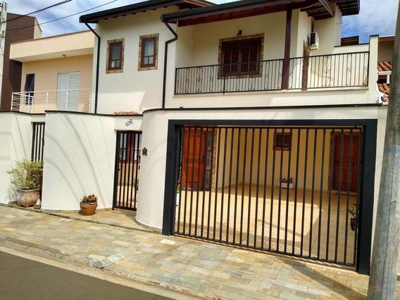 Casa Com 3 Dormitórios À Venda, 210 M² Por R$ 650.000 - Residencial Terras Do Barão - Campinas/sp - Ca7053