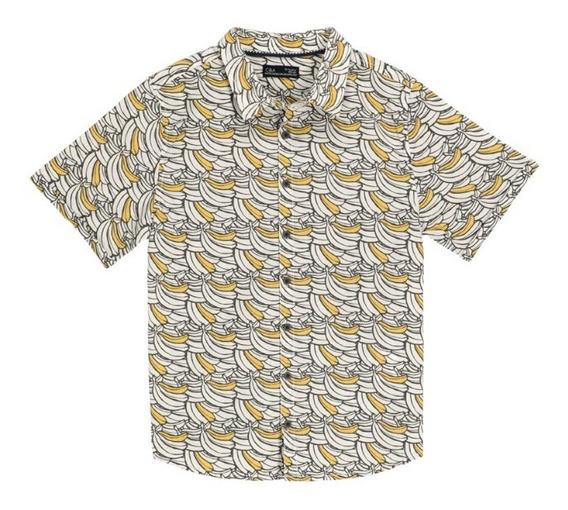 Camisa Manga Corta De Niño C&a Con Estampado