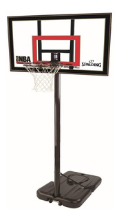 Sistema Tablero Basket Spalding Highlight Acrilico Jirafa Basquet