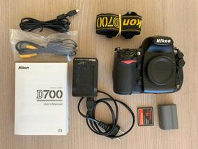 Câmera Dslr Nikon D700 Usada