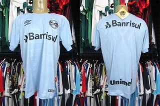 Grêmio 2017 Camisa Reserva Tamanho Gg.
