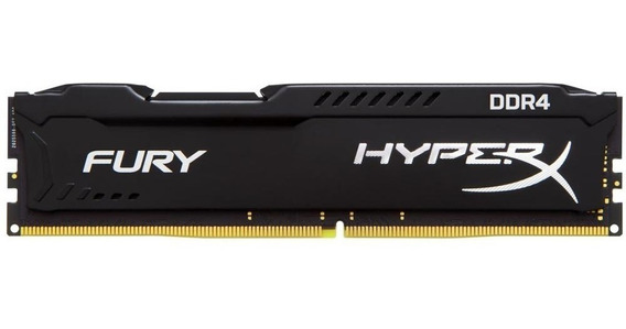 Memória Kingston 16gb Ddr4 2400mhz Hyper Fury Pc4 Original