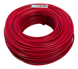 Cable Unipolar 2.5 Mm Normalizado Rojo 2,5mm Rollo 100mts