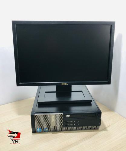 Imagem 1 de 5 de Cpu Dell Optiplex 7010 Core I5 4gb 500gb + Monitor Dell