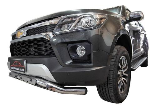 Defensa Talampaya Cromada Bepo Para Chevrolet S10 2012/2017