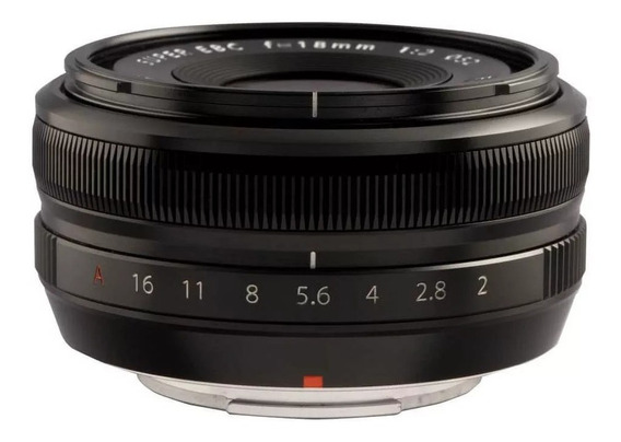 Lente Fuji Fujifilm Xf 18mm R F2 Xt2 Xt3 Xt20 Xt30 Xpro2