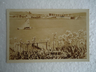 Cartão Postal Foto Antigo Pampulha Belo Horizonte Anos 1950