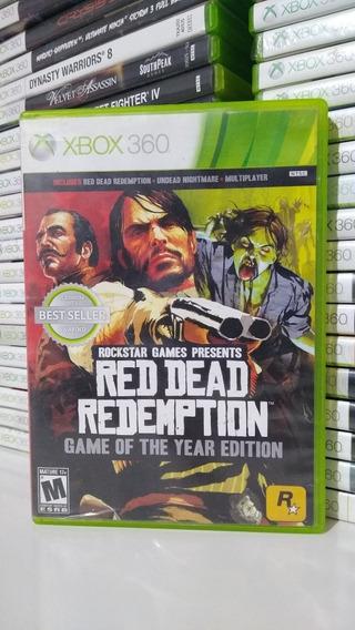 Red Dead Redemption Goty Mídia Física Xbox360*retrocompativl