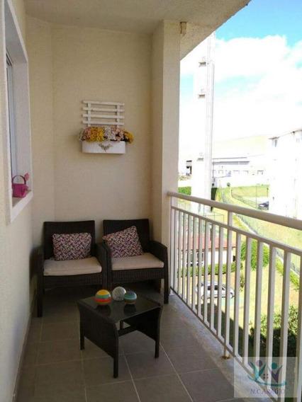 Apartamento Para Venda Em Mogi Das Cruzes, Cezar De Souza, 3 Dormitórios, 1 Suíte, 2 Banheiros, 2 Vagas - Ap0220_2-1071772