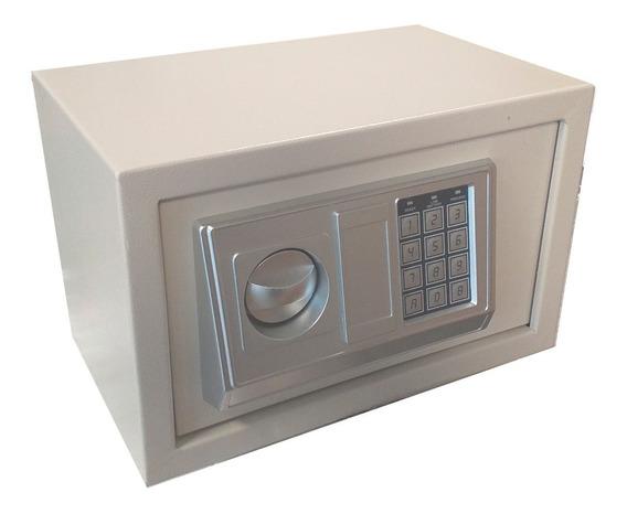 Caja Fuerte Seguridad Electrónica Digital Con Llave Bronzen