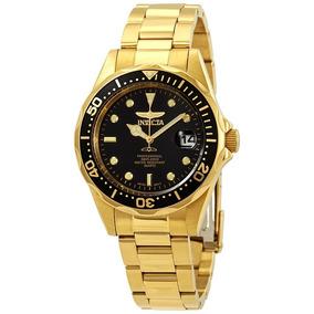 Relógio Invicta Dourado 8936 - 20atm