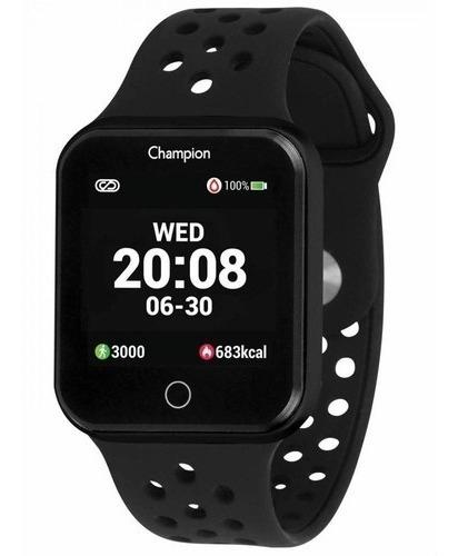Relogio Masculino Champion Smartwatch Bluetooth 4.0 Pl Preto