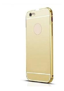 Bumper Capa Espelhada Celular iPhone 5g 5s Aluminio Top