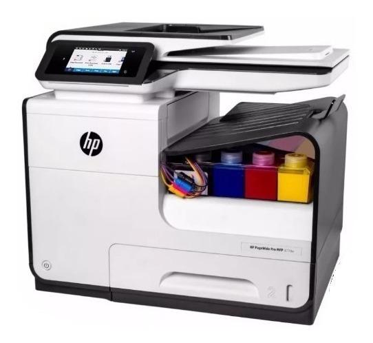 Hp Pagewide Pro 477dw Desbloqueada + Bulk Com Tintas Em 12x