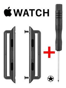 Par Adaptador De Pulseira Para Apple Watch 38/ 40/ 42/ 44mm