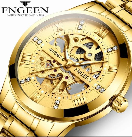 Relógio Esqueleto - Ótimo Presente Para O Marido, Namorado!!