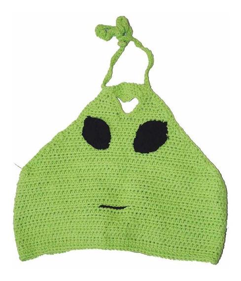 Top Crochet Tejido Alien Love