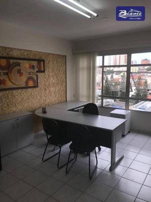 Sala Para Alugar, 38 M² Por R$ 1.500/mês - Centro - Guarulhos/sp - Sa0156
