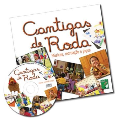 Livro Cd Cantigas De Roda