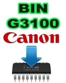 Arquivos De Firmware .bin Canon G3100 (original) (e-mail)
