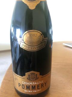 Champagne Pommery Brut Vintage 1982