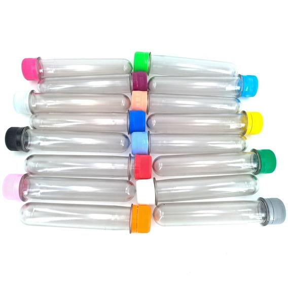 100 Tubos Golosinas 15.5cm Envase Plastico Tbt15-010 .x100u.