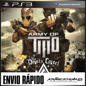 Army Of Two The Devils Cartel - Jogos Ps3 Midia Digital