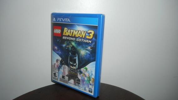 Lego Batman 3 Beyong Gotham Ps Vita Mídia Físicanovo Lacrado