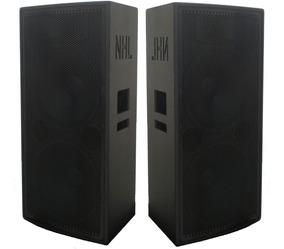 Caixa Ativa + Passiva 2x15 +ti 1600w Nhl Pro Sound